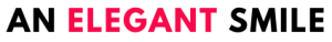 an elegant smile logo
